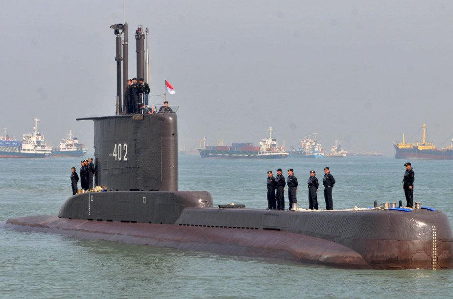 """Indonezijos povandeninis laivas """"KRI Nanggala-402"""""""