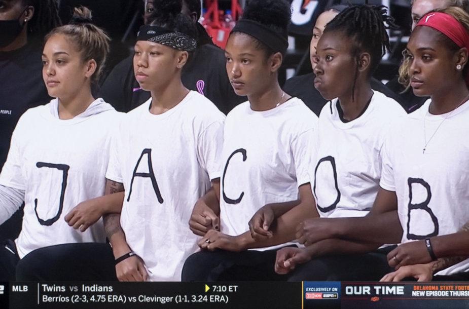 JAV sportininkai boikotavo rungtynes