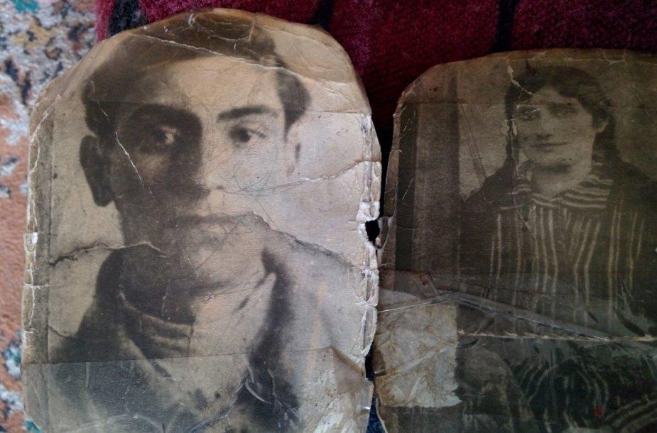 Eišiškėse gyvenančios Rozos šeima buvo paliesta holokausto – nuotraukose du nužudyti jos protėviai