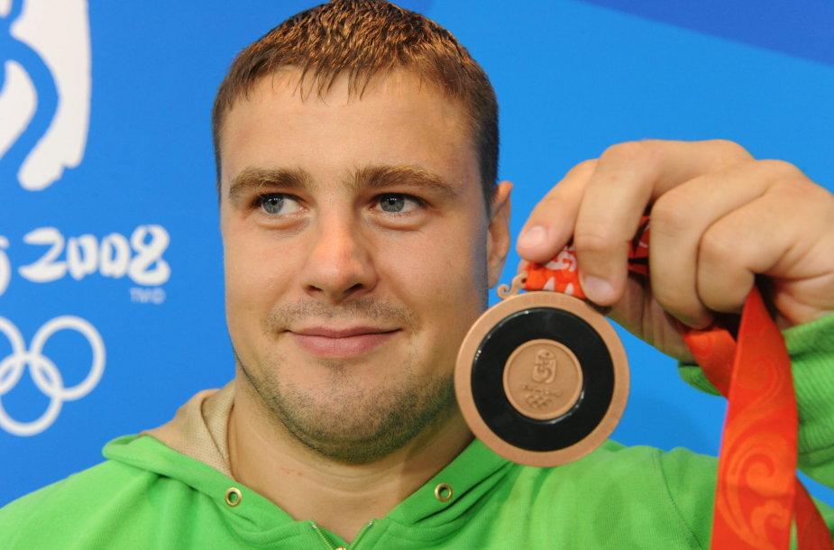 Mindaugas Mizgaitis Pekino olimpinėse žaidynėse