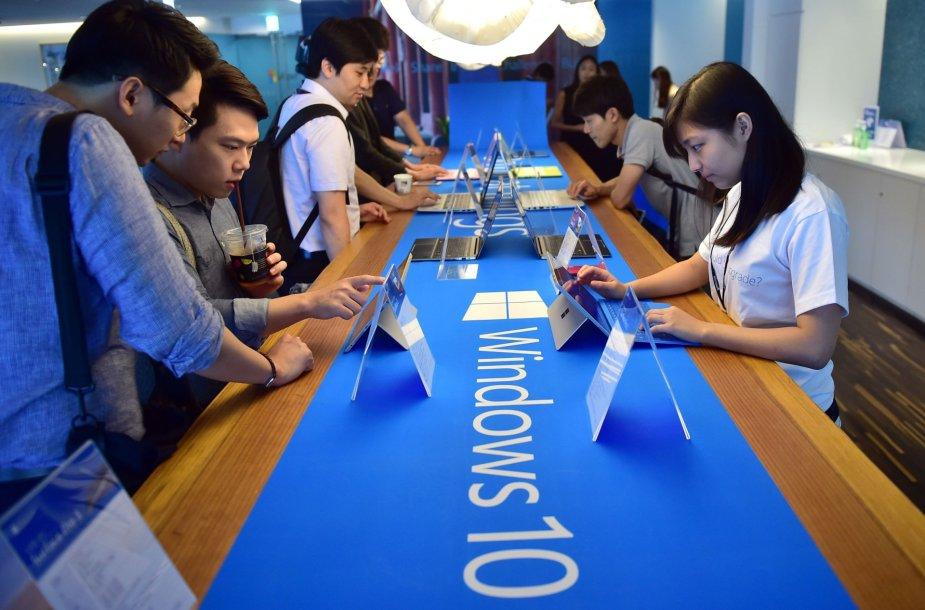 Windows 10 pristatymas Seule
