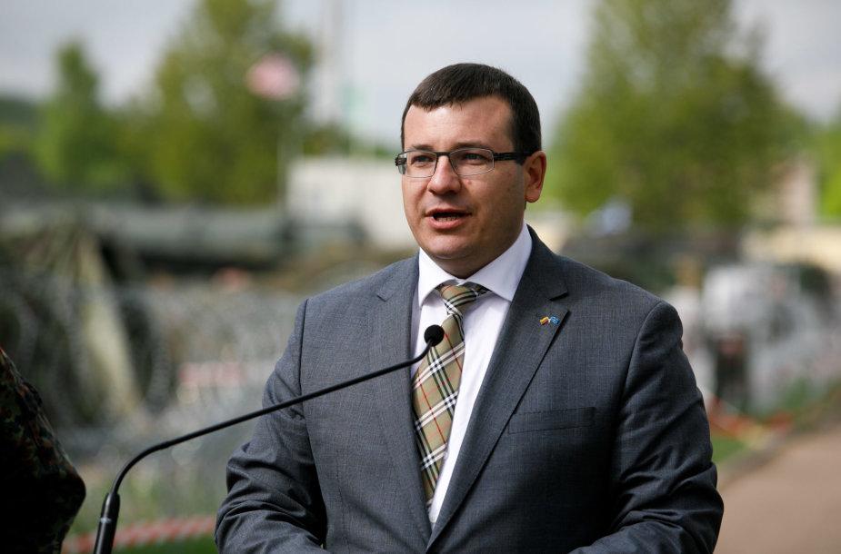 Lietuvos krašto apsaugos viceministras Edvinas Kerza