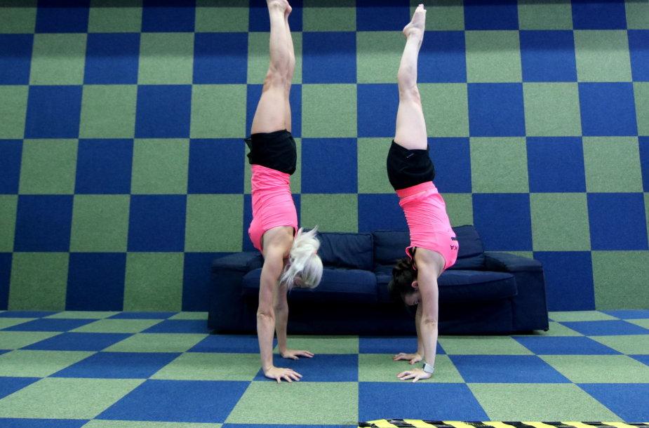 Akrobatika – sporto šaka, kurią nors kartą gyvenime reikia išbandyti kiekvienam