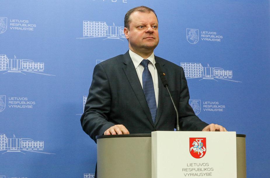 Ministras pirmininkas Saulius Skvernelis