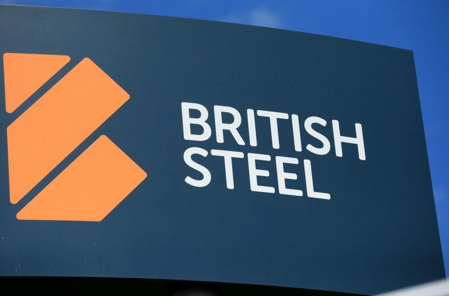 """Didžiosios Britanijos plieno gamintoja """"British Steel"""""""