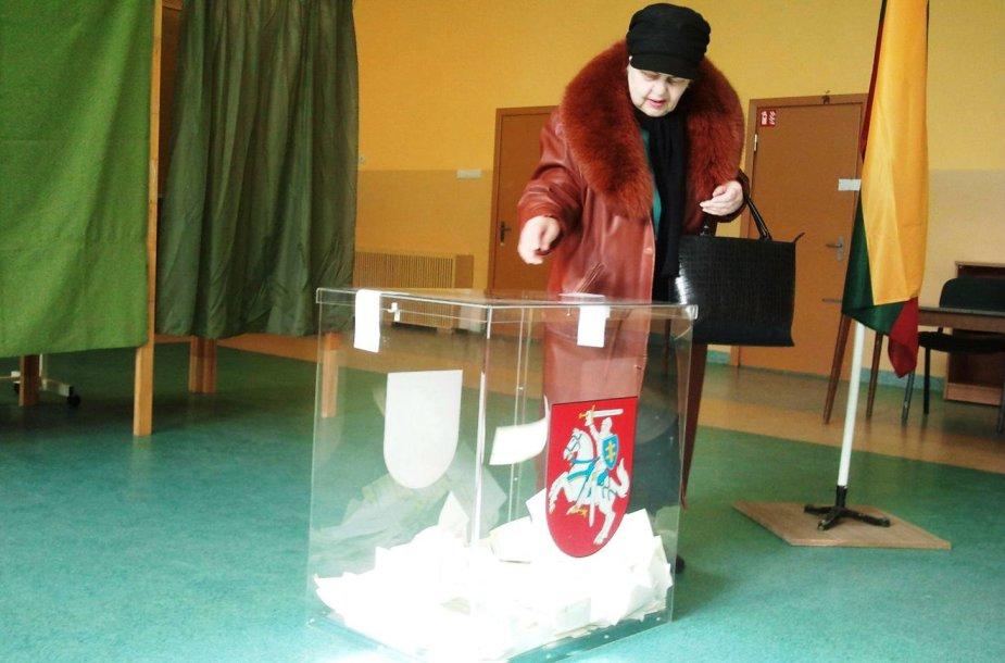 Savivaldybių tarybų rinkimai Klaipėdoje