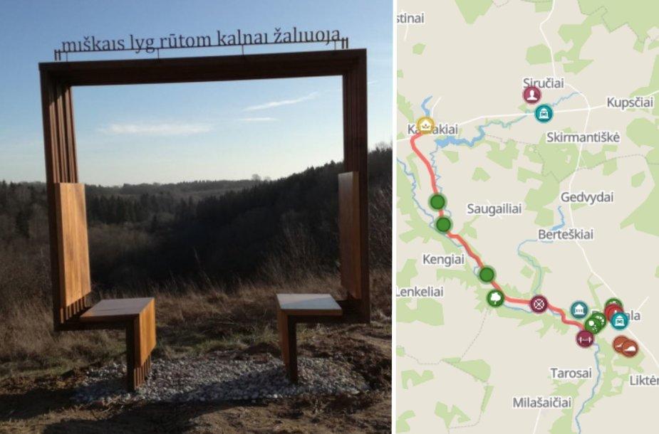 Maironio kelias Padubysiu