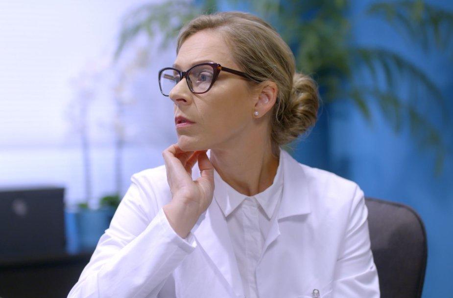 """Gabija Jaraminaitė seriale """"Meilė gydo"""""""