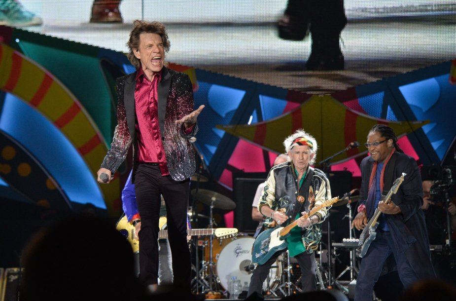 """The Rolling Stones"" koncerto akimirka"