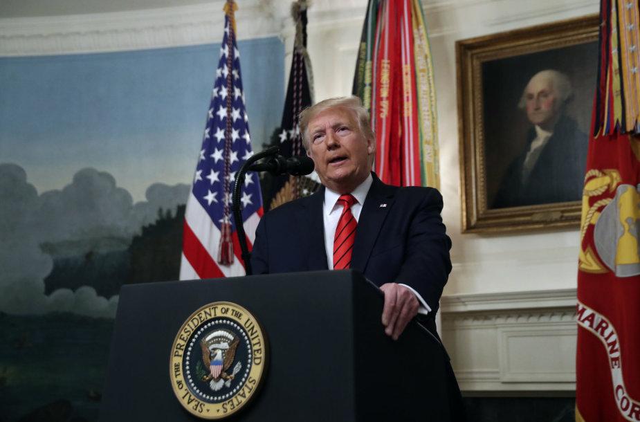 Donaldo Trumpo spaudos konferencija