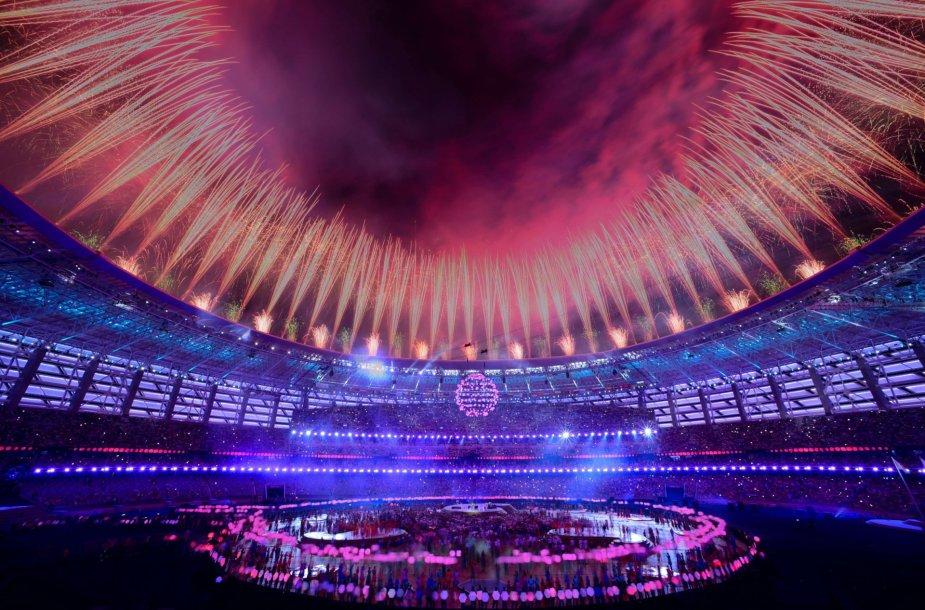 Europos žaidynių uždarymas Baku