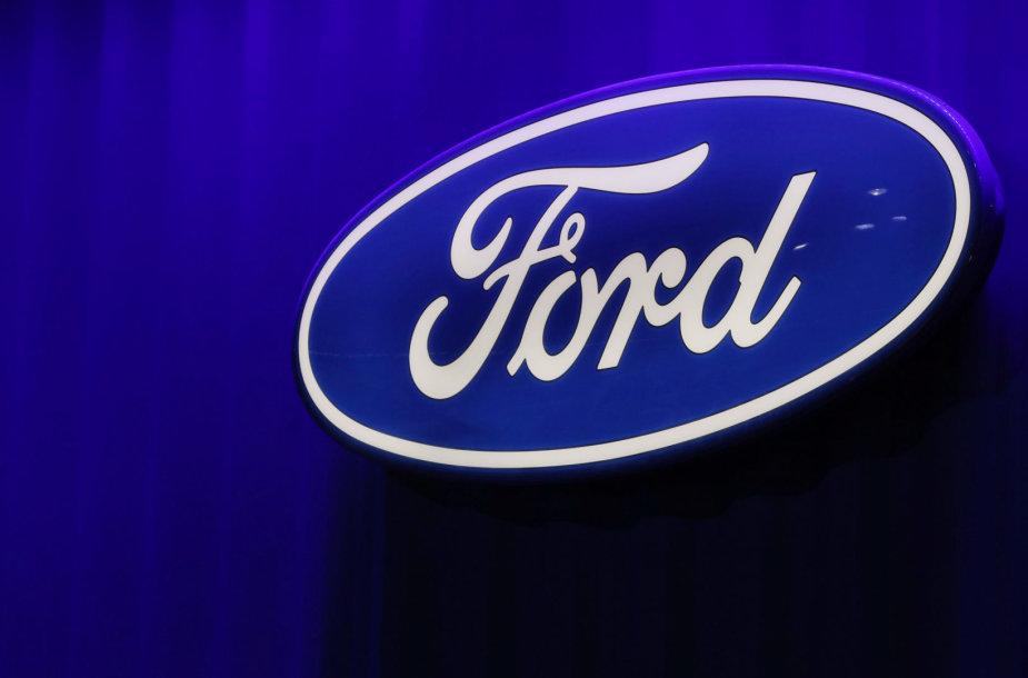 """Ford"" logotipas"