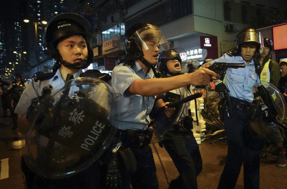 Honkongo policija