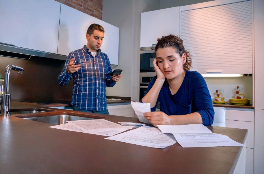 Šeimą prispyrė finansiniai rūpesčiai