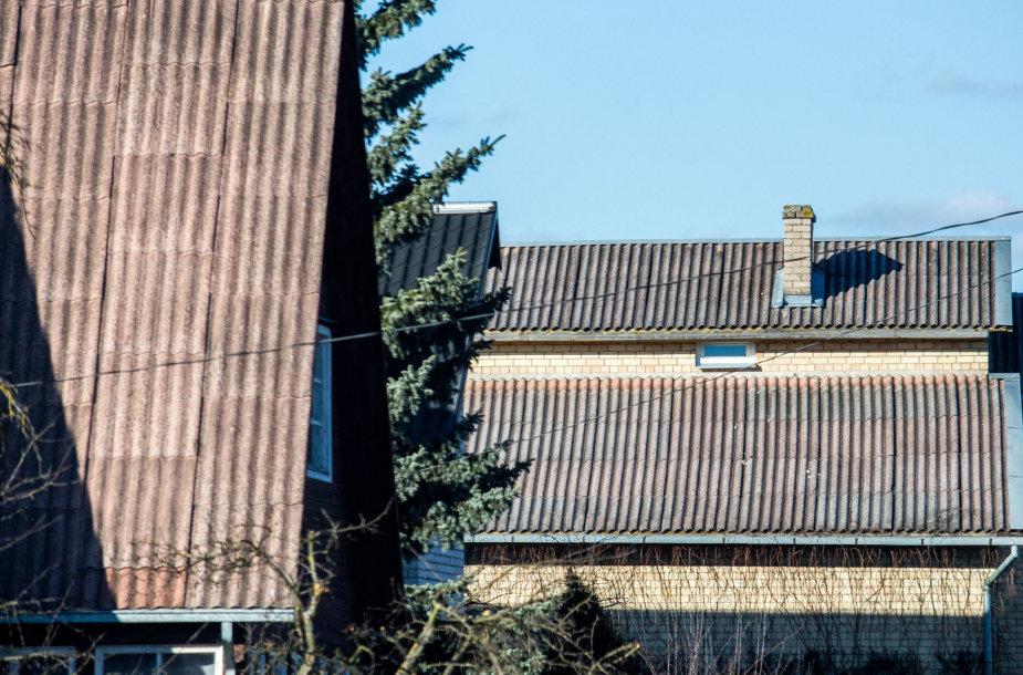 Asbesto stogai