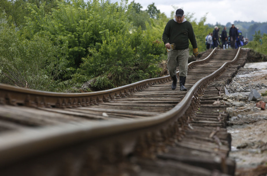 Geležinkelio bėgiai Bosnijoje ir Hercegovinoje