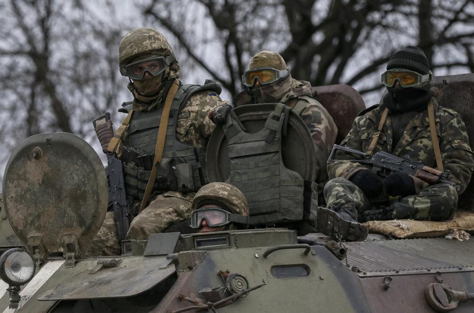 Ukrainos kariai Avdijivko mieste