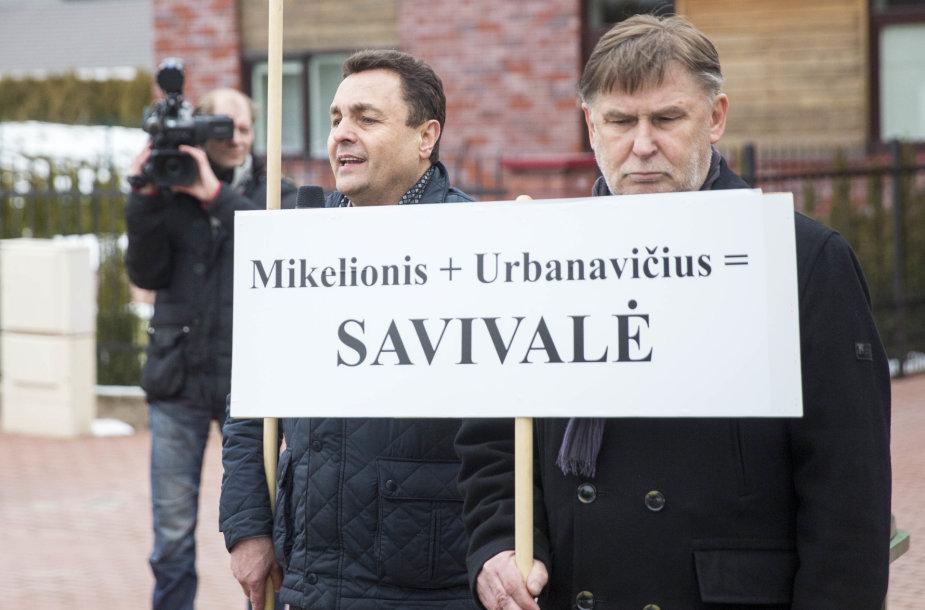 Petras Gražulis ir Valdas Vasiliauskas
