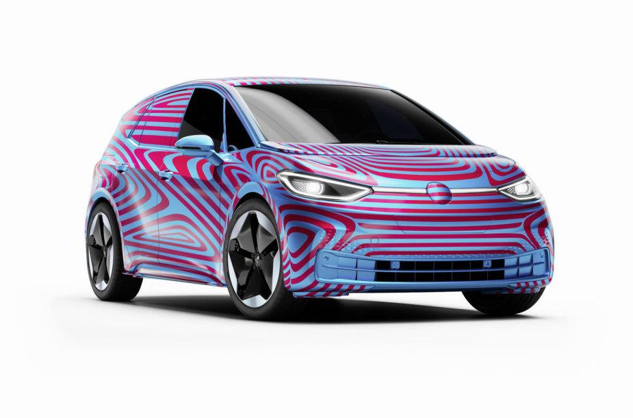 """Elektromobilis """"Volkswagen ID.3"""""""