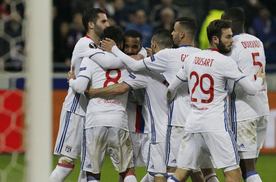 """""""Lyon"""" futbolininkai"""