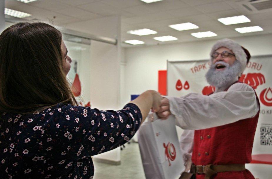 Draugo diena - proga tapti kraujo donoru