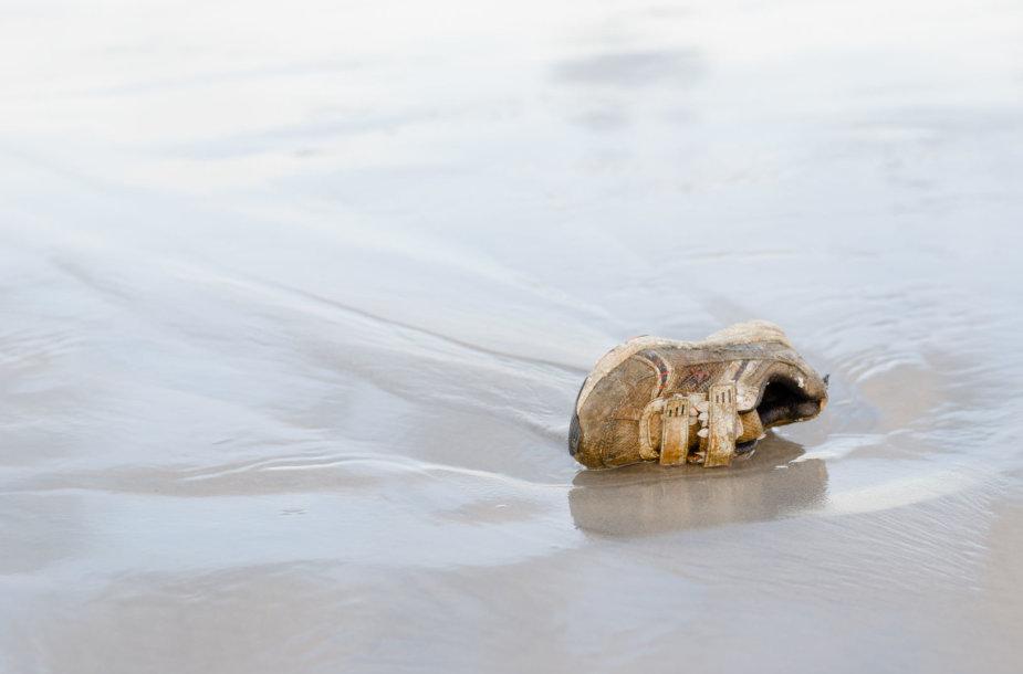 Jūros išmestas sportbatis