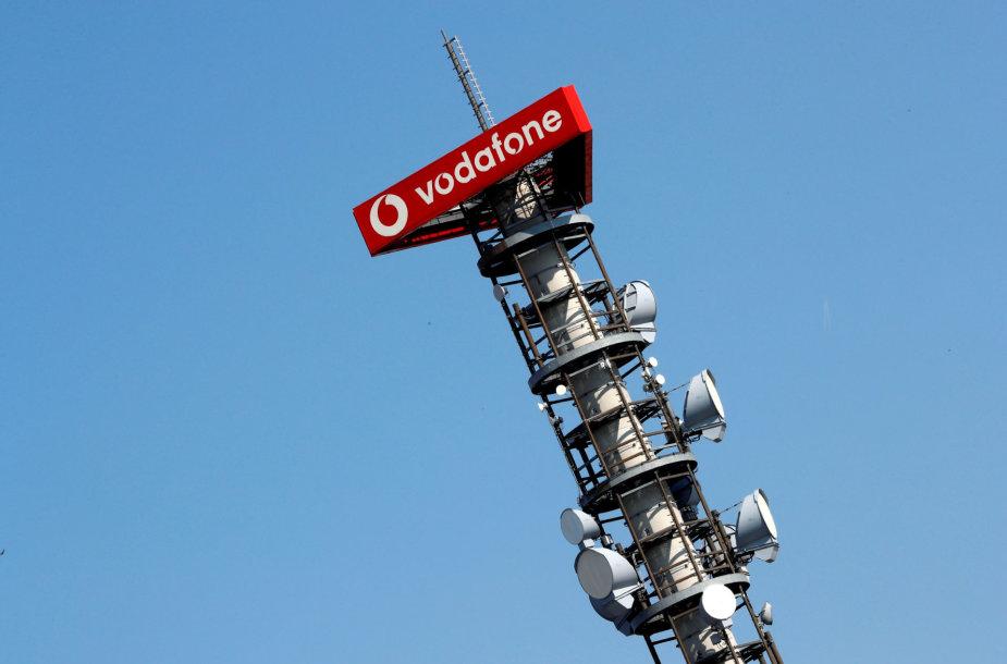 """""""Vodafone"""" mobiliojo ryšio bokštas"""