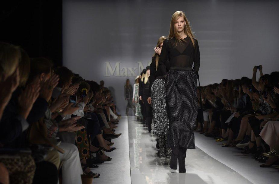 """""""Max Mara"""" kolekcijos pristatymas"""