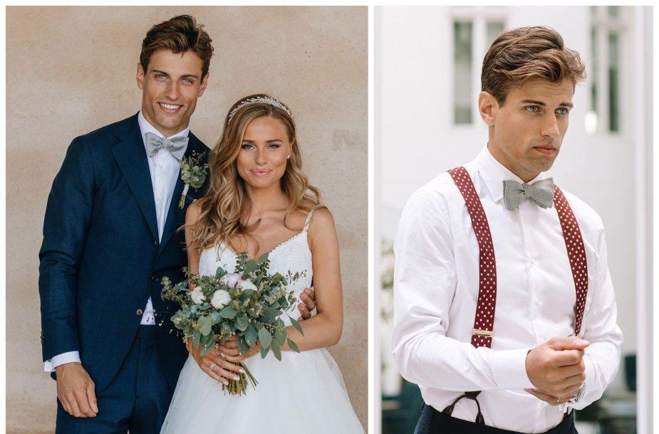 Manto Armalio ir Stinos Rosengren vestuvių akimirka