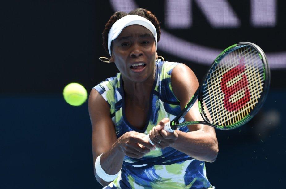 Venus Williams prieš Johanną Konta