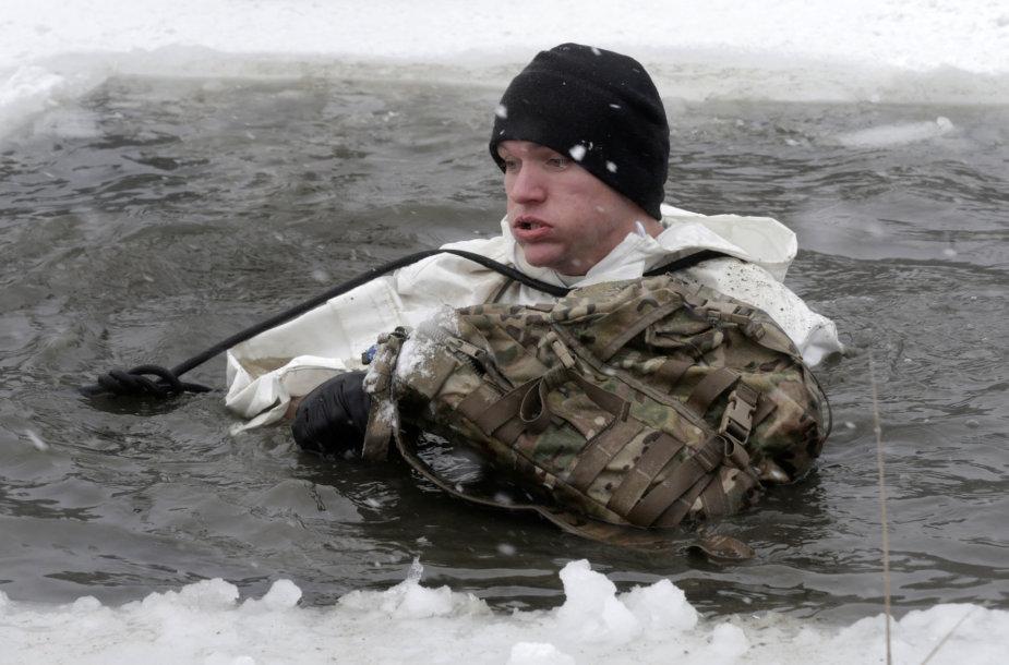 JAV karys Latvijoje.