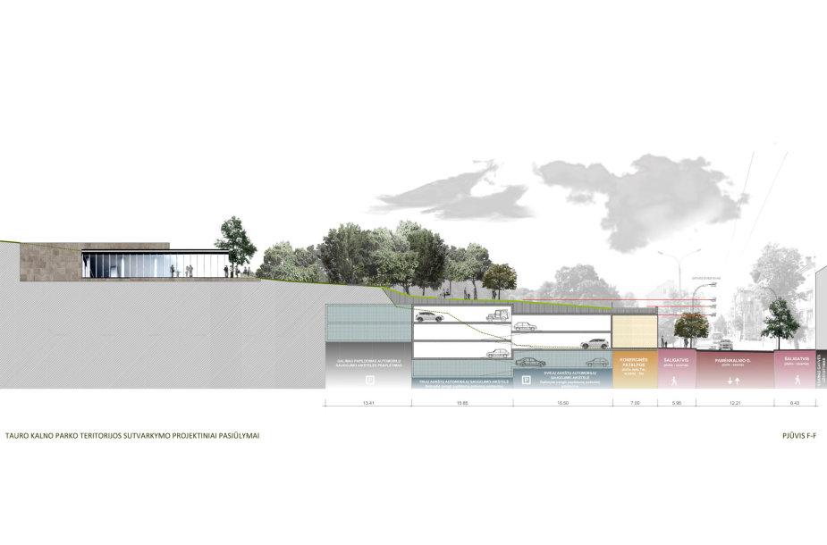 Tauro kalno parko projektinis pasiūlymas