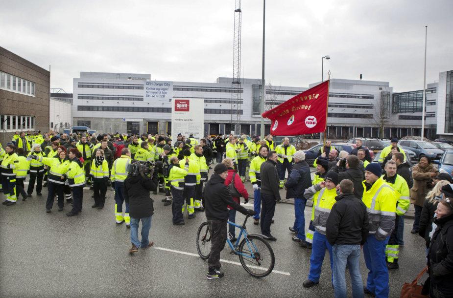 Protestas Kopenhagoje
