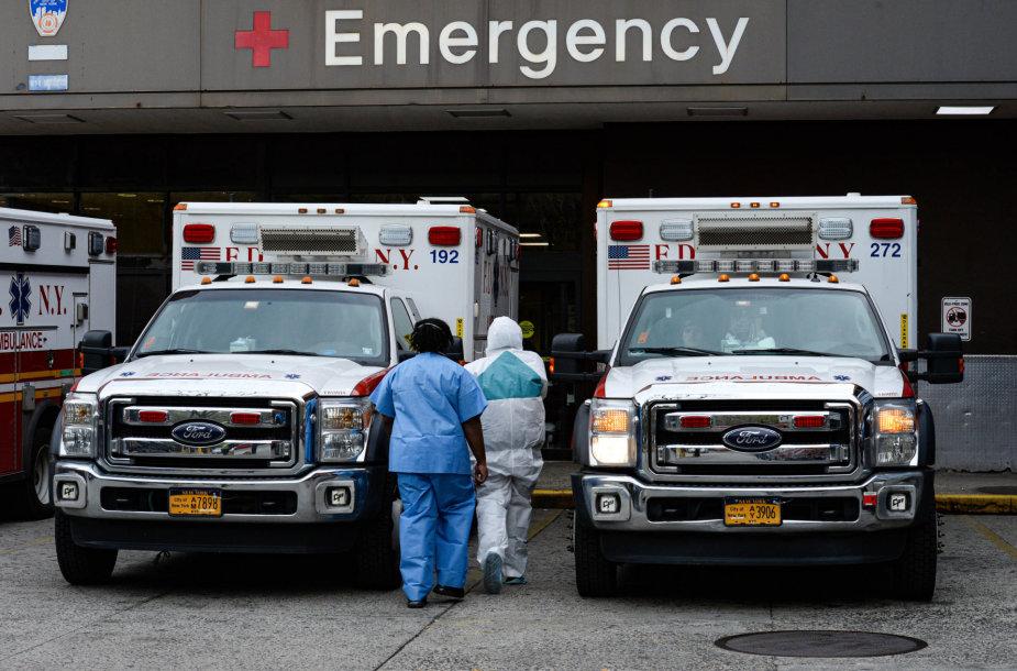 JAV pandemija neslopsta
