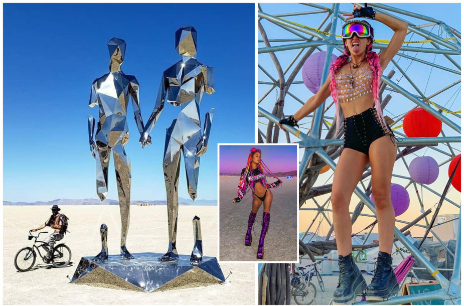 """Burning Man"" festivalis"