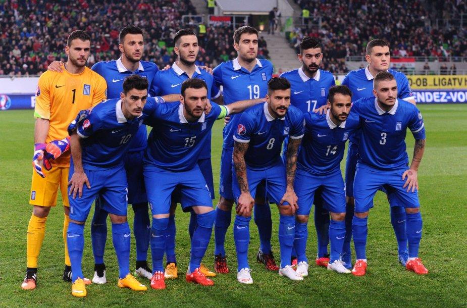 Graikijos futbolo rinktinė