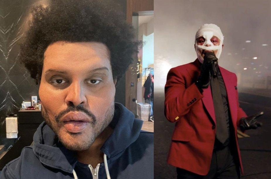 The Weeknd vaizdo klipui sukurtas įvaizdis