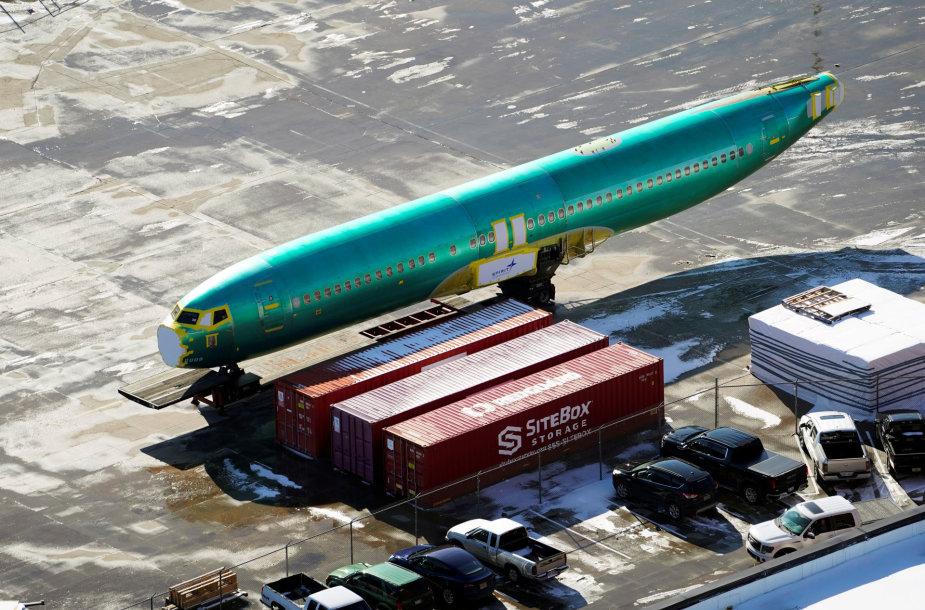 """""""Boeing 737 MAX"""" gamyba"""