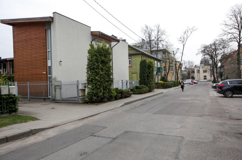 Karaimų gatvė Vilniaus Žvėryno rajone