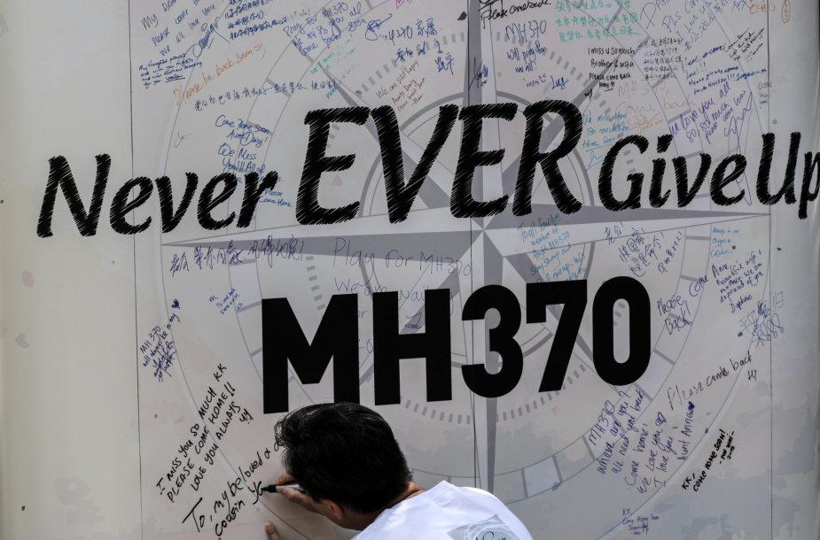 MH370 reiso lėktuvo paieškos