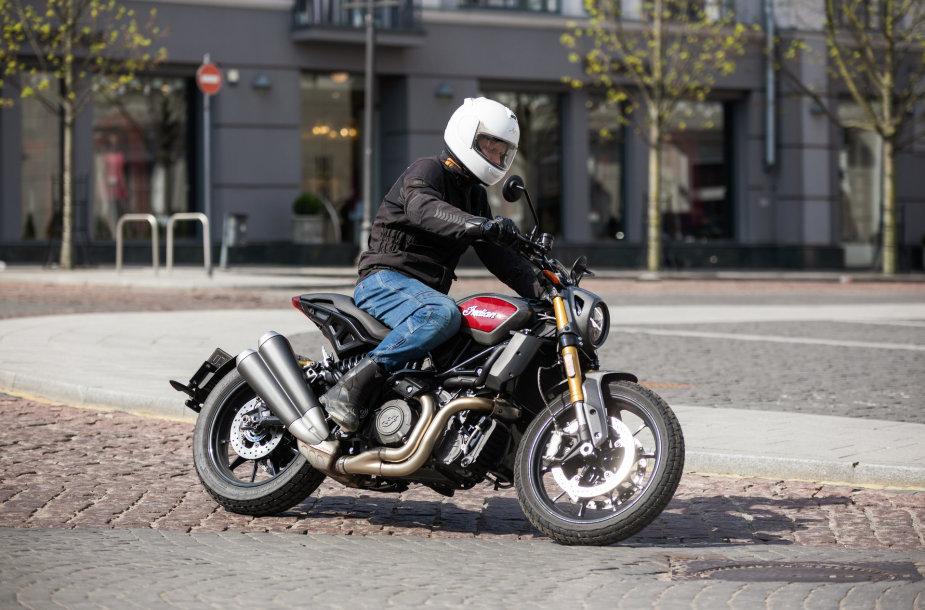 "Motociklas ""Indian FTR 1200"""