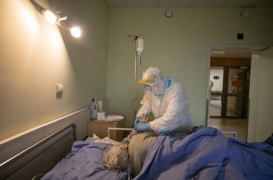 Koronaviruso ligonių gydymas