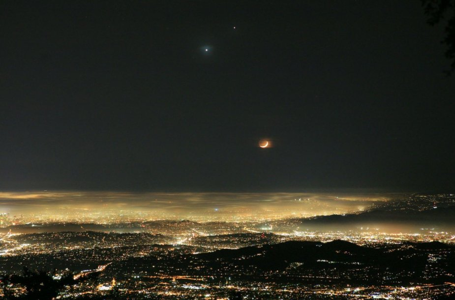 Veneros ir Jupiterio susitikimas danguje