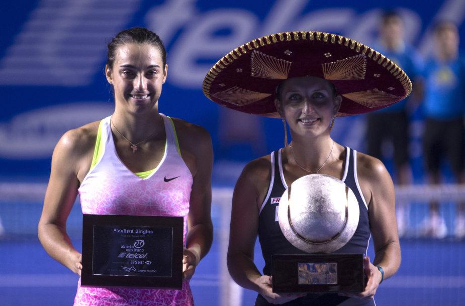 Carolina Garcia ir Timea Bacsinszky