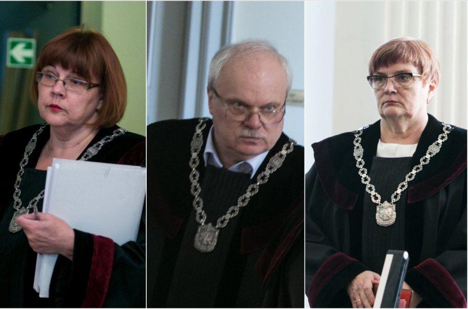 Virginija Pakalnytė-Tamošiūnaitė, Artūras Šumskas ir Ainora Kornelija Macevičienė