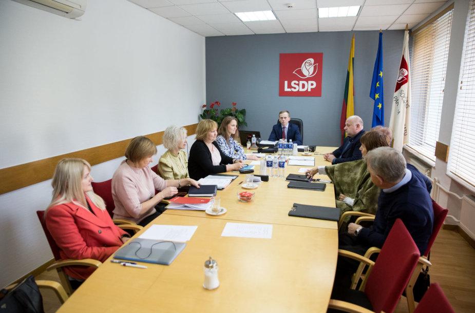 LSDP Etikos ir procedūrų komisijos posėdis