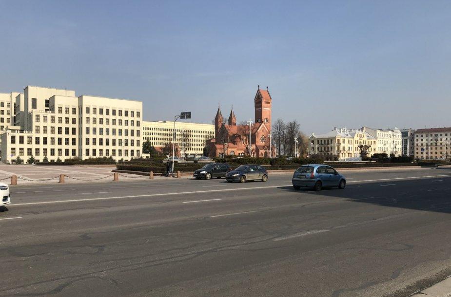 Minskas saulėtą šeštadienį