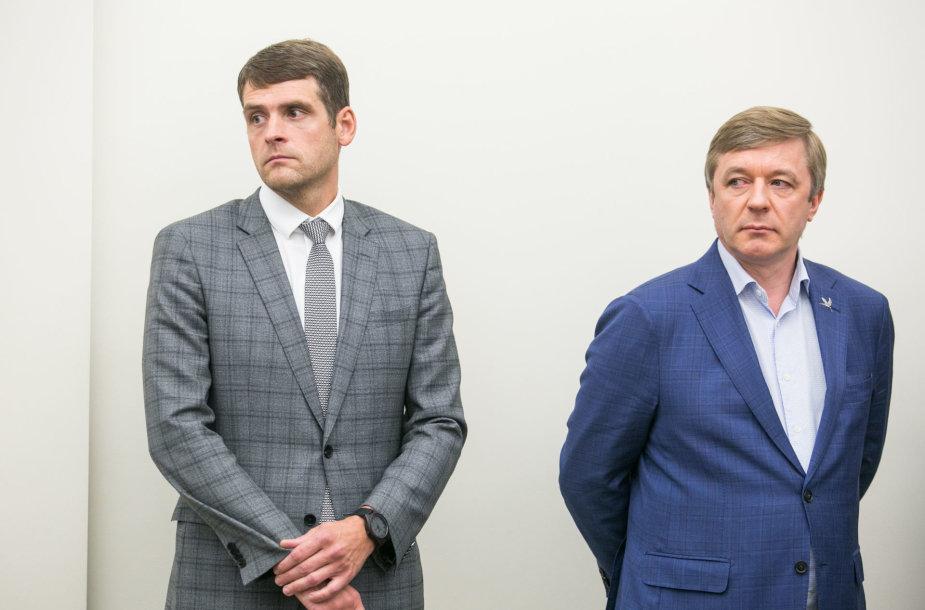 Remigijus Žemaitaitis ir Ramūnas Karbauskis