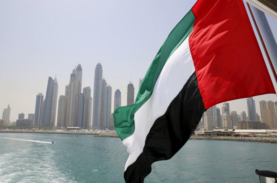 Jungtinių Arabų Emyratų vėliava