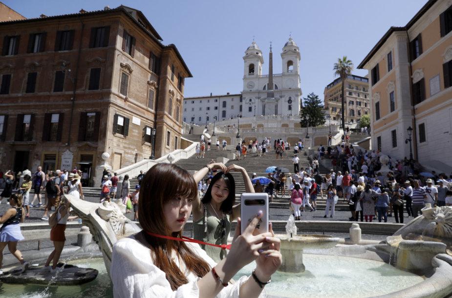 Ispaniškieji laiptai Romoje